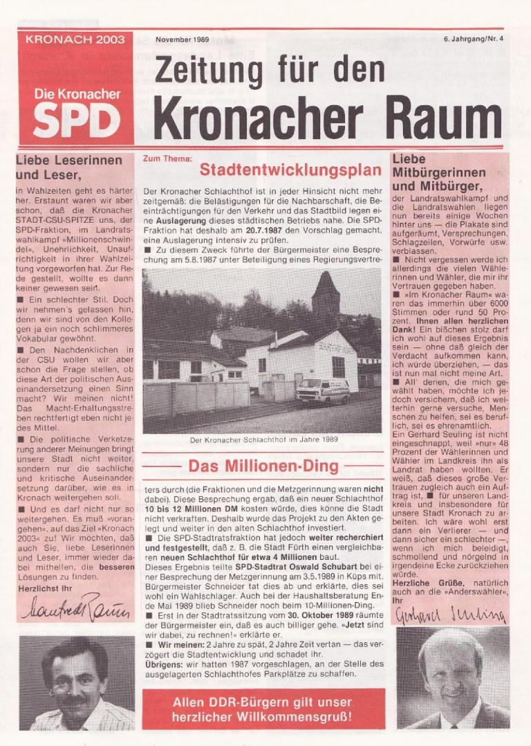 SPD-Zeitung