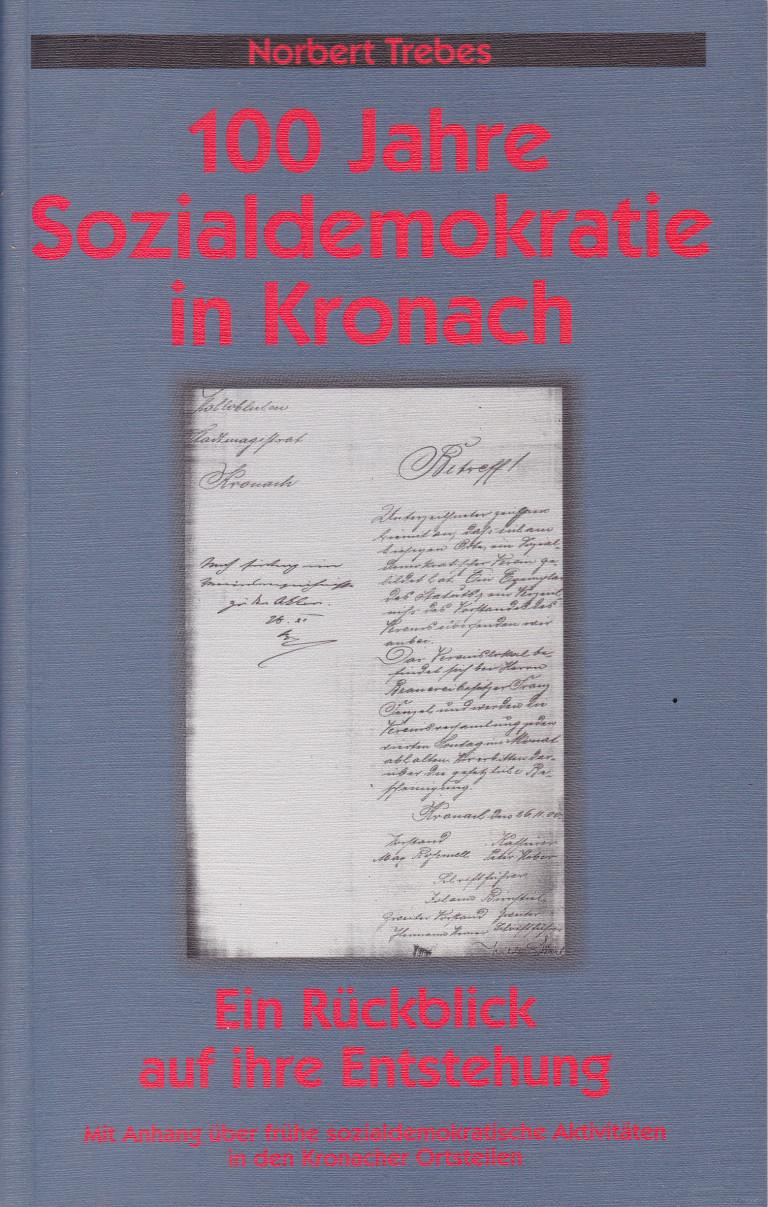 Scan - 100 Jahre SPD in Kronach